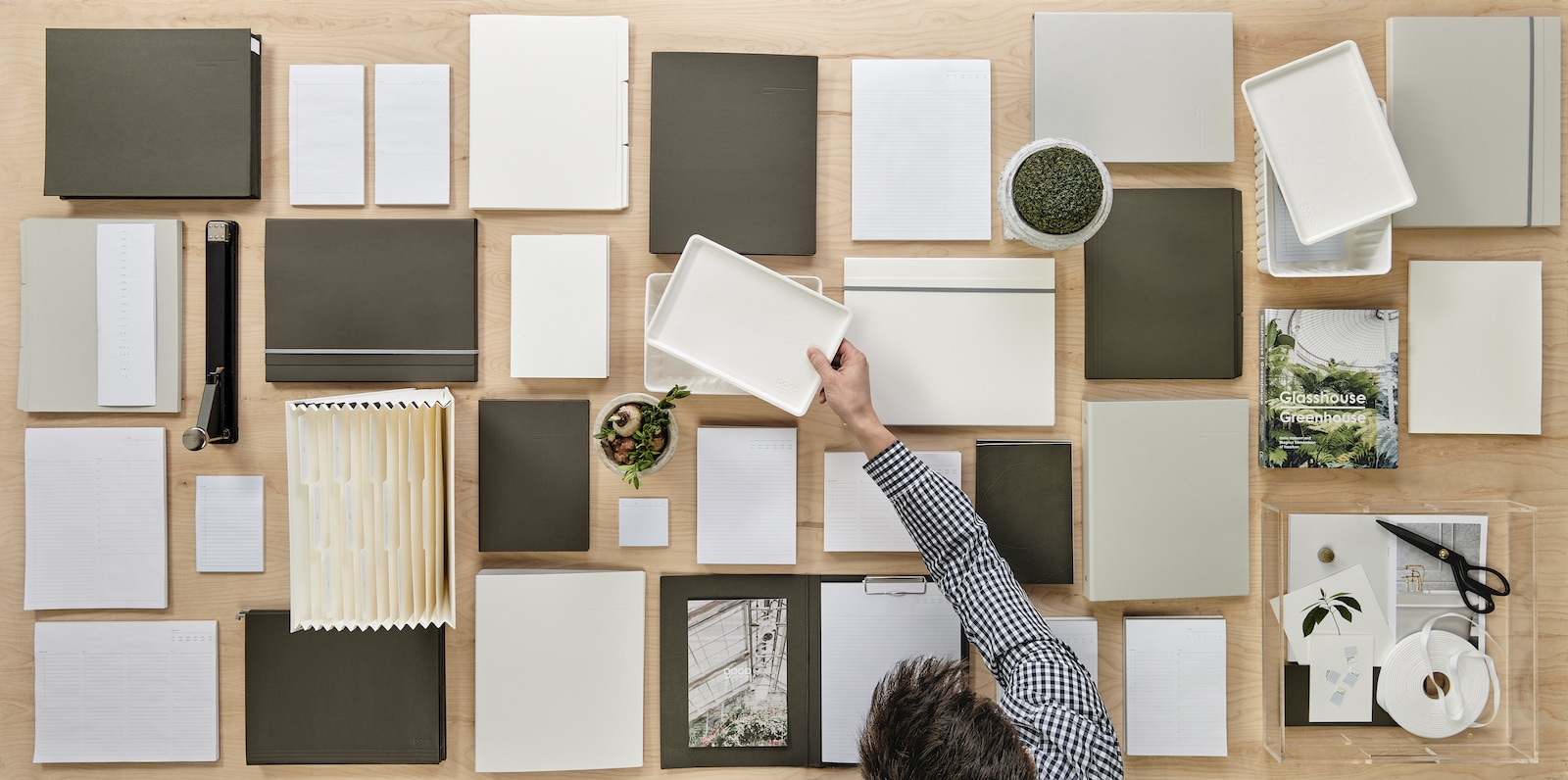 Russell + Hazel Founder Returns With Eco-Friendly Office Line