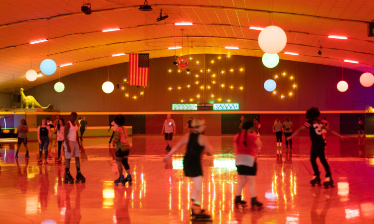 Closing Time at the Roller Garden
