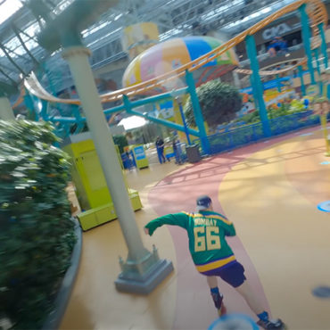 Rally Studios Pilots Drone Flight Through Mall of America