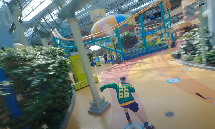 Rally Studios Pilots Drone Flight Through Mall of America