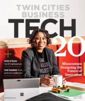 Feb./March 2021 cover of Twin Cities Business magazine
