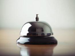 hotel front desk bell