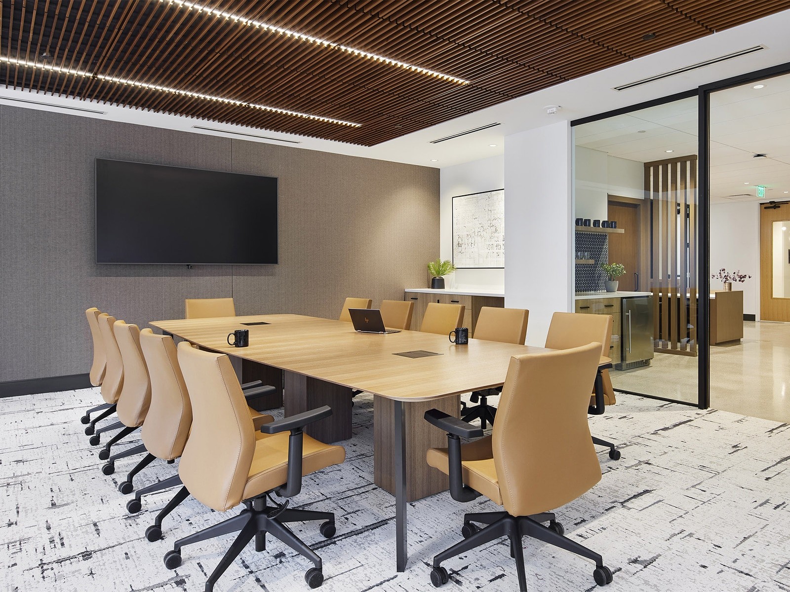 conference room in Henson Efron's new office in the Capella Tower in downtown Minneapolis