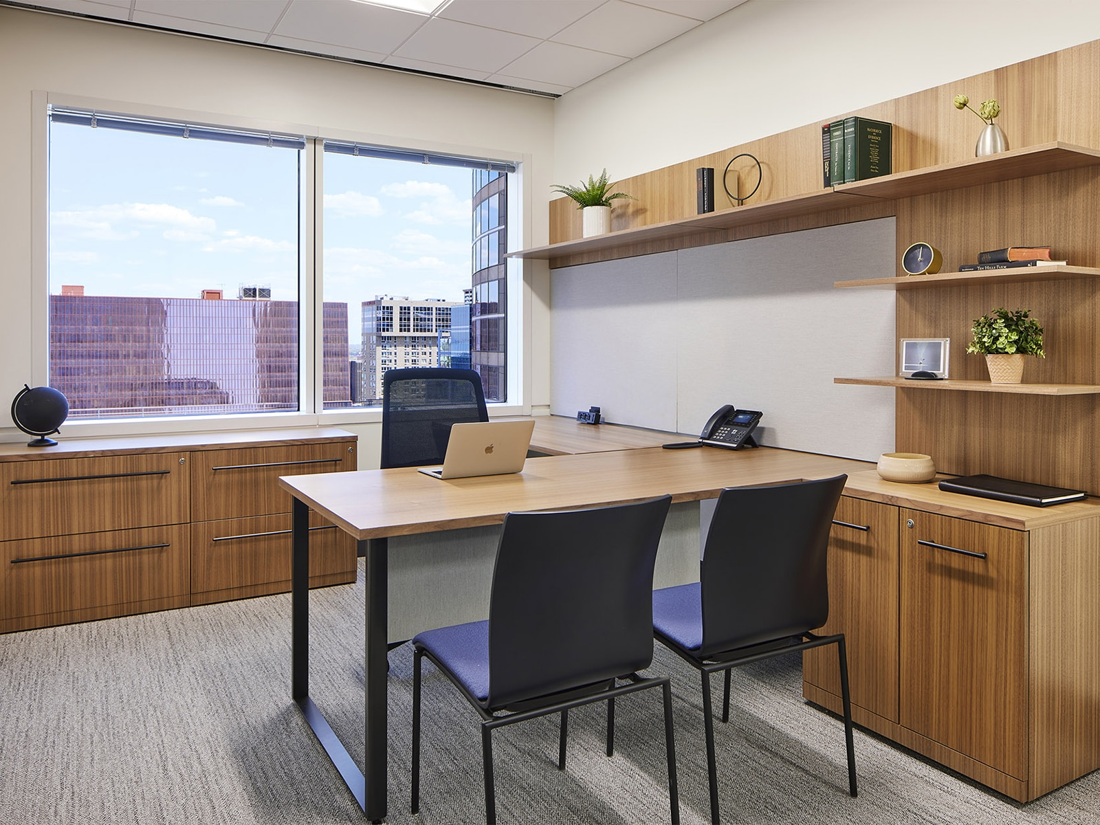 individual office in Henson Efron's office in downtown Minneapolis