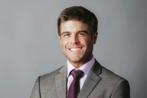 Adam Barrett, Vice President; tenant advisory specialist focused on downtown Minneapolis for Colliers.