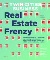 Cover of Twin Cities Business' June/July 2021 issue