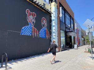 Uptown storefront