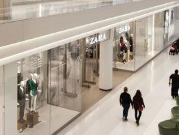 Zara in the Mall of America