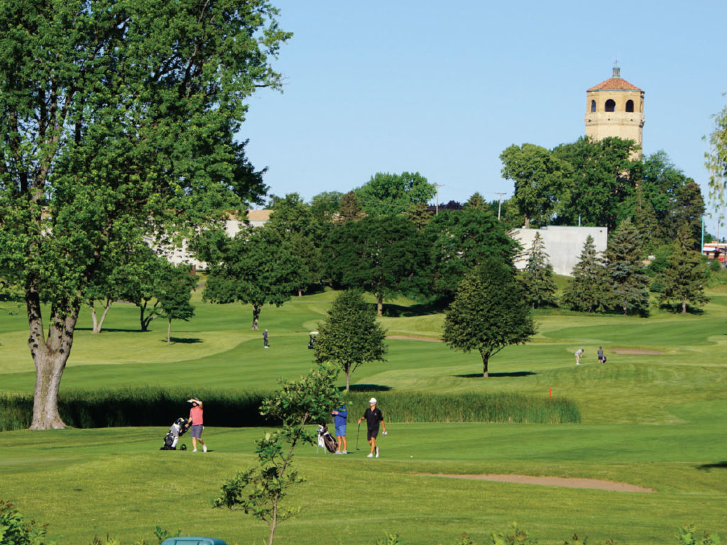 Highland National golf course in St. Paul