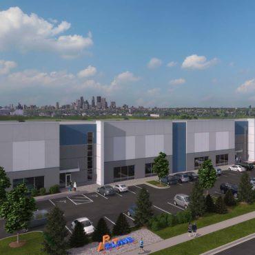 Opus Building Spec Industrial Project in Northeast Minneapolis