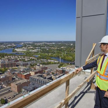 United Properties Tops Out RBC Gateway Tower