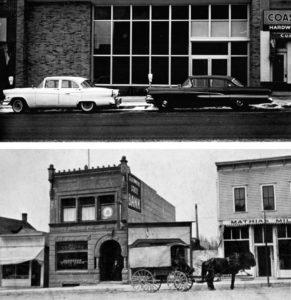 Glenwood Branch in 1961 Top, Glenwood Branch in 1907 bottom