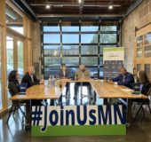 """Gov. Walz Makes Business Pitch to """"Join Us"""" in Minnesota"""