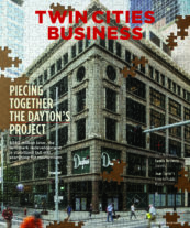 Twin Cities Business magazine's October/November 2021 cover