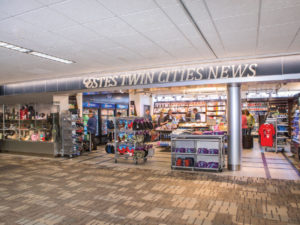 One of six Estes retail shops at the Minneapolis-St. Paul airport.
